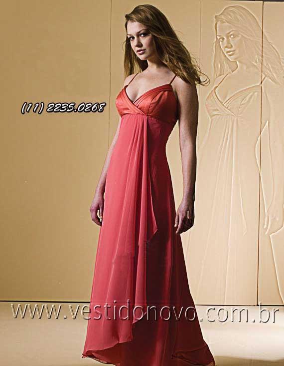 c8916ea90 Vestido para convidada de festa, Alta Qualidade somente 1º aluguel ...