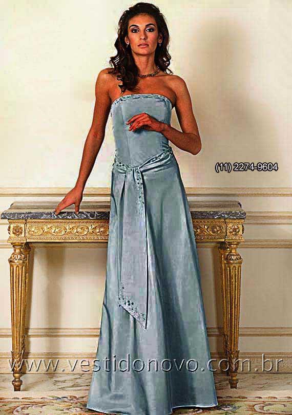 vestido de madrinha azul serenity importado peça unica - sp - São Paulo,  itaim, a2a86e1a0b