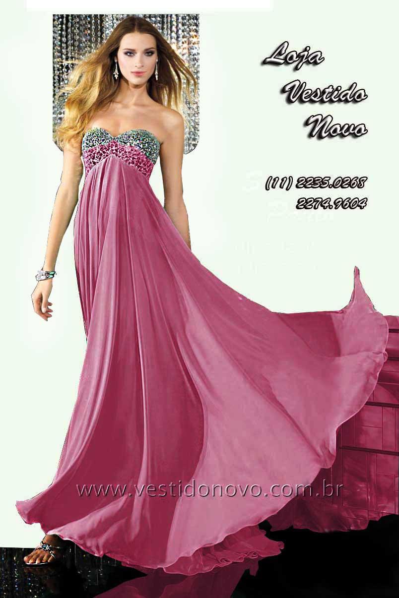 b99cd0562 Vestidos Plus size rosa claro pedraria e brilho no busto