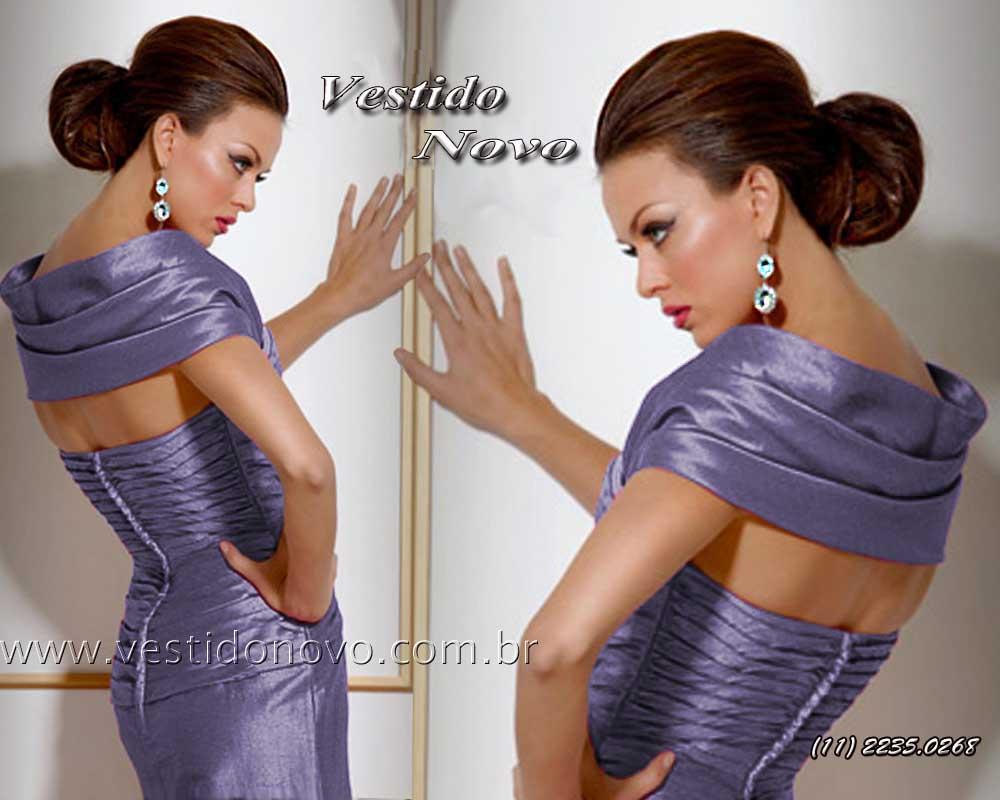 f1e0afe7adfbb vestido mae do noivo em tafeta azul escuro plus size loja São Paulo -  aclimação,