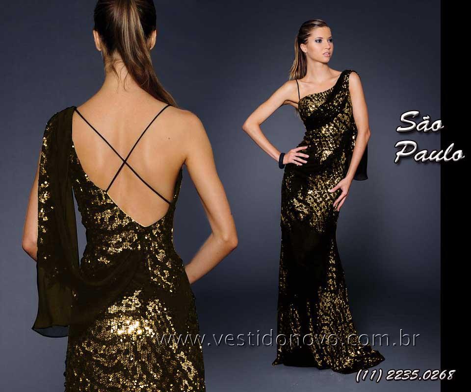 Vestido de formatura longo para vender