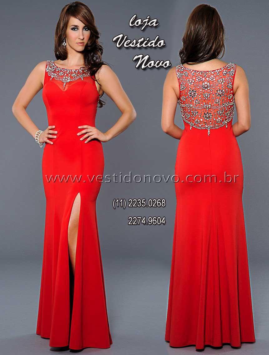 e2e58f728 Vestido vermelho de formatura, CASA DO VESTIDO NOVO São Paulo, sp,  aclimação,